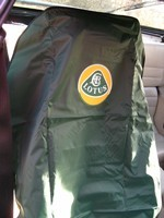 Waterproof Logo'ed Seat Covers