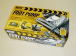 Maypole Footpump - Double Heavy Duty TUV Approved