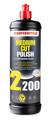Product image of Menzerna Power Finish 2200 Medium Cutting Compound (250ml)