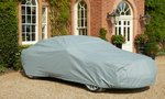 Protector4 Outdoor Breathable Fleece lined car cover, XL