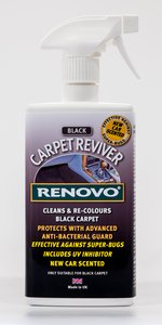 Renovo Carpet Reviver (Black) 400ml