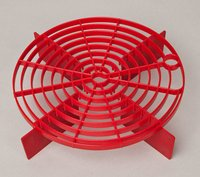 Product image of ScratchShield Adjustable Gritguard - Red