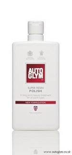 AutoGlym Super Resin polish - 2012 new formula & free Microfibre cloth