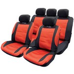 Car Seat Covers - Mesh Racing Style