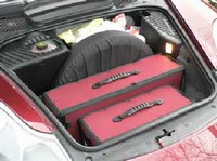 Product image of Custom Fitted Luggage - Porsche Boxster - front
