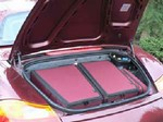 Custom Fitted Luggage - Porsche Boxster - rear