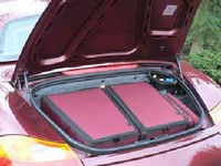 Product image of Custom Fitted Luggage - Porsche Boxster - rear
