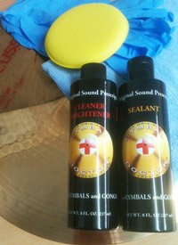 Product image of Cymbal Doctor Duo Cymbal Polish Kit
