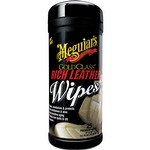 Meguiars Gold Class Rich Leather Wipes (pack of 25)