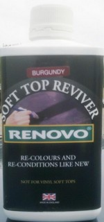 Renovo Fabric Hood Reviver Burgundy 500ml