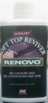 Product image of Renovo Fabric Hood Reviver Burgundy 500ml